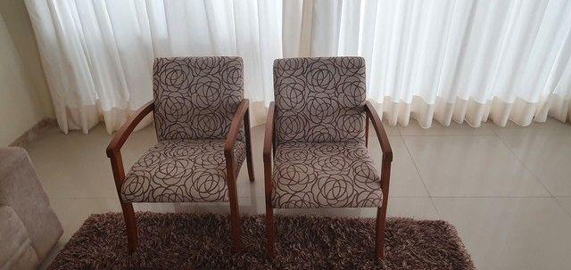 Poltronas e mesa de centro super luxo - Foto 2