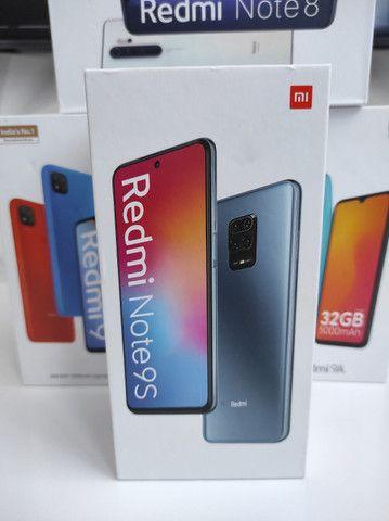 Sucesso 2021! REDMI Note 9S  da Xiaomi.. NOVO COM GARANTIA e entrega Ultra Rápida!