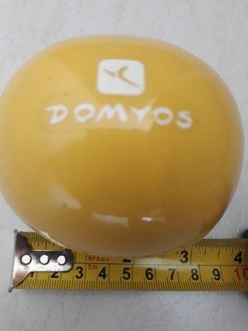 Bola de pilates grande 55cm + Bola de pilates com peso - Foto 3