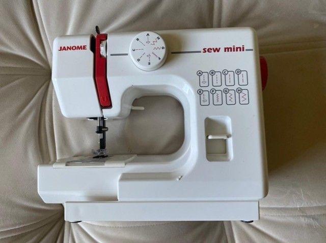 Máquina de costura- janone sew mine - Novo
