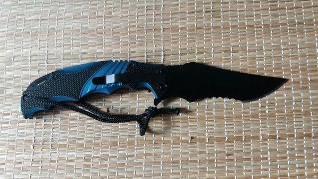 Canivete Tático Serrilhado - Foto 5
