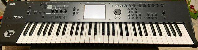 Sintetizador Korg - impecável com Caixa Original - Foto 2