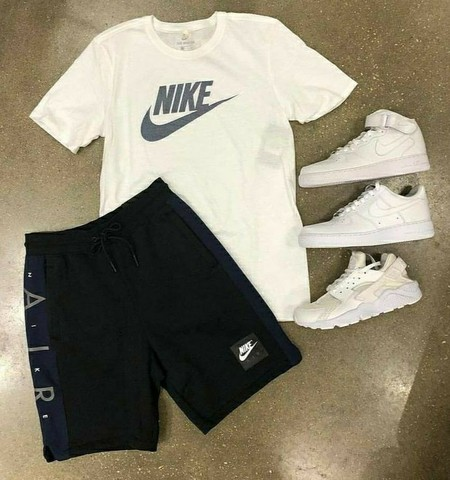 KIT Com 1 Bermuda + 1 camiseta + 1 tênis adulto Original  2021 - Foto 5