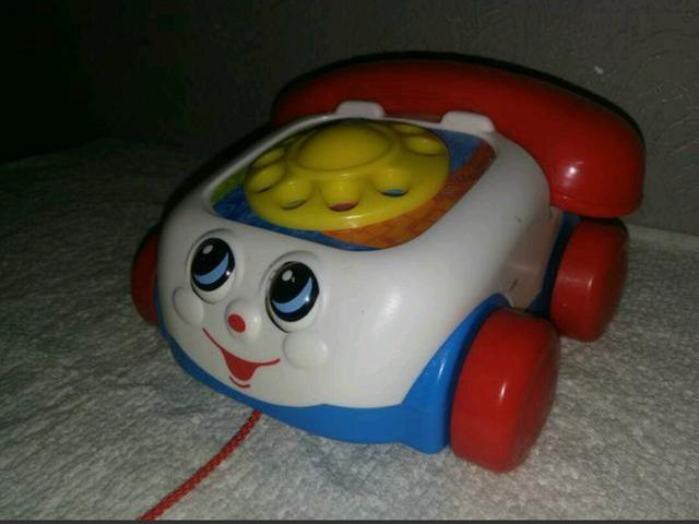 Telefone Fisher Price semi novo