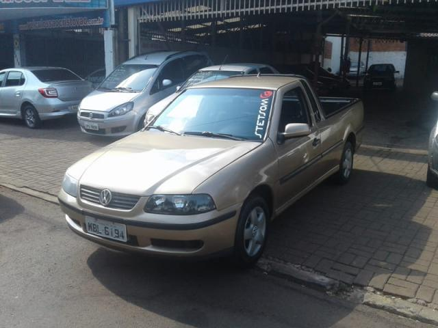 VOLKSWAGEN SAVEIRO CITY 1.6 MI 2P 2002