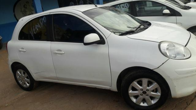 Vendo nissan march 1.0 s r$21.000,00