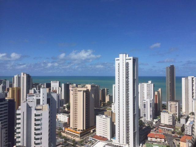 Apartamento Mobiliado Com Um Quarto, Novo no Bairro de Boa viagem, Recife-PE