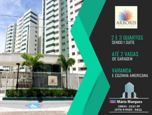Arboris Jabutiana - Apartamento com 2 quartos