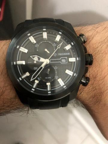 6a91220f7ca Relógio Technos Sports - Os10el 8p - Preto (retirada em Botafogo ...