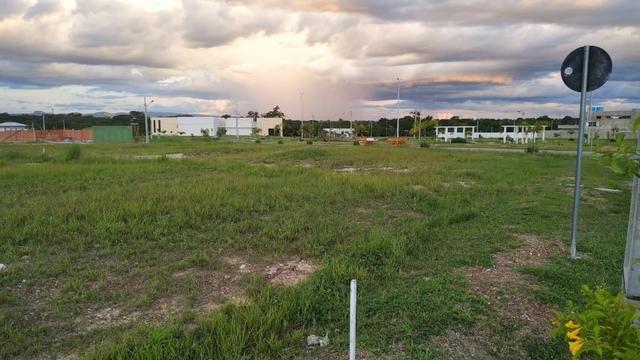 Terreno bem localizado - no começo do Condomínio, Sub esquina, com 458m² O Florais Itáli - Foto 5