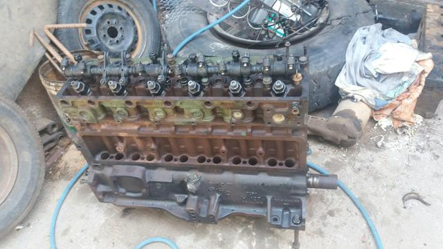 Motor parcial 366 + turbina + tanque de combustivel 3/4 + um arranque - Foto 3