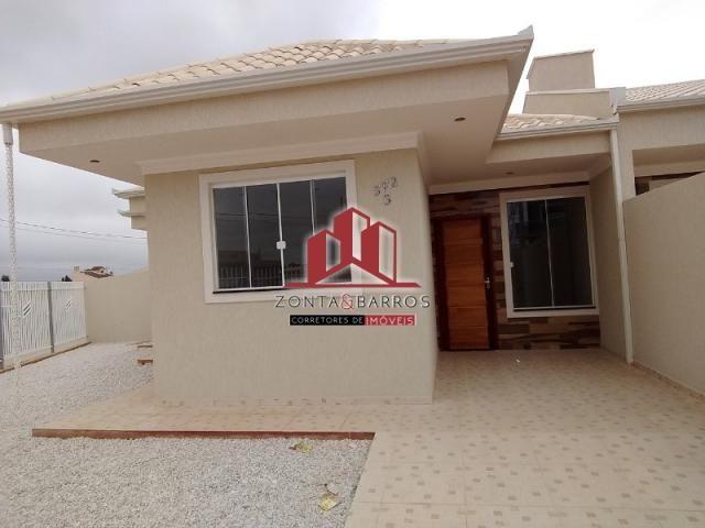 Casa à venda com 3 dormitórios em Eucaliptos, Fazenda rio grande cod:CA00115 - Foto 2