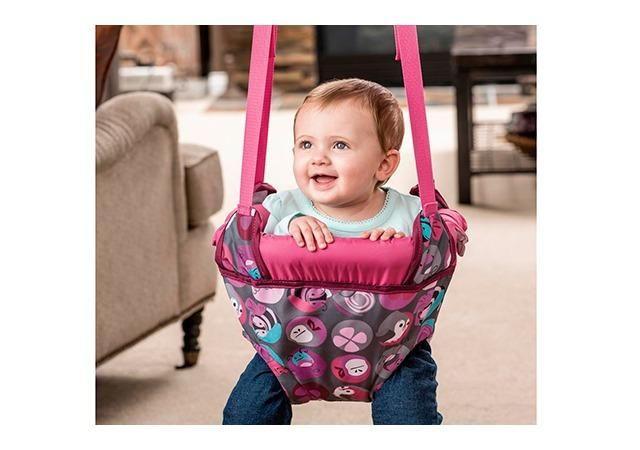 Jumper para Porta - Bumbly - Rosa - Evenflo Pula-Pula- Aceito cartão de crédito via Picpay - Foto 4