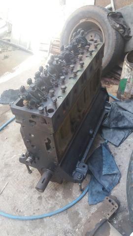 Motor parcial 366 + turbina + tanque de combustivel 3/4 + um arranque - Foto 4