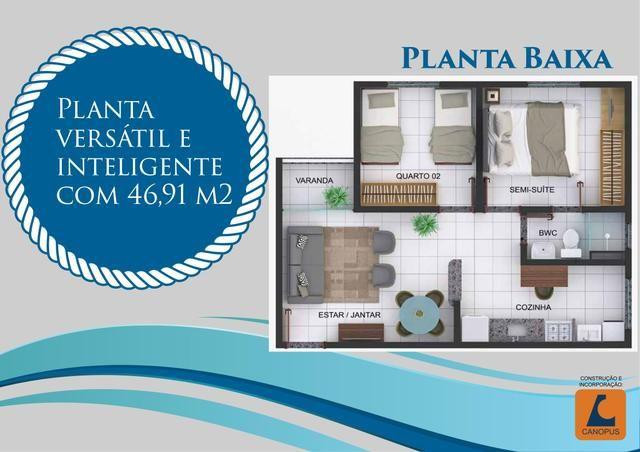 07 - Apartamentos na PLANTA - Entrega em DEZ./2020! - Foto 3