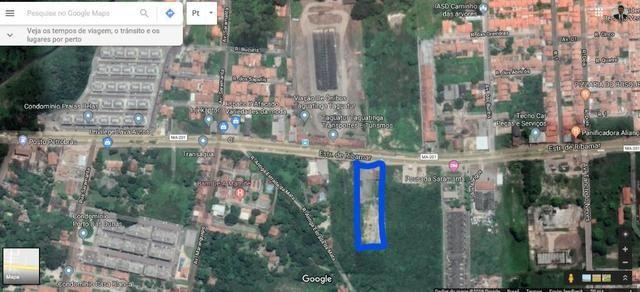 Excelente Terreno para Construção de Condomínio de Casas na Estrada de Ribamar 10.000 m²