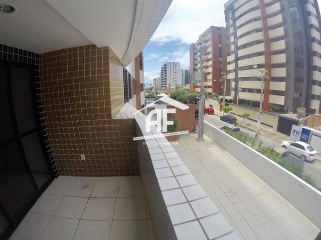 Apartamento novo na Jatiúca - 3 quartos sendo 1 suíte - Prédio com piscina - Foto 3