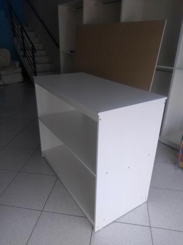 Kit Móveis para loja cor madeirada ou branca - Foto 4