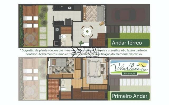 Lindo Sobrado - Vila Paraíso em Hortolândia com Apenas 8 Unidades - Compra Facilitada - Foto 13