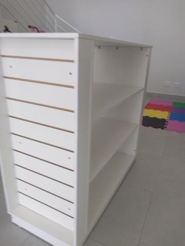 Kit Móveis para loja cor madeirada ou branca - Foto 5