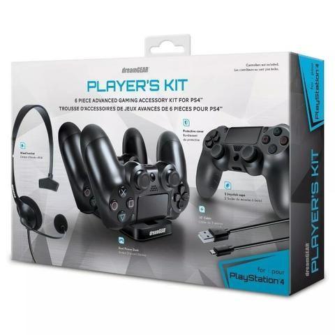 Kit Gamer para Ps4 PlayStation 4 DreamGear