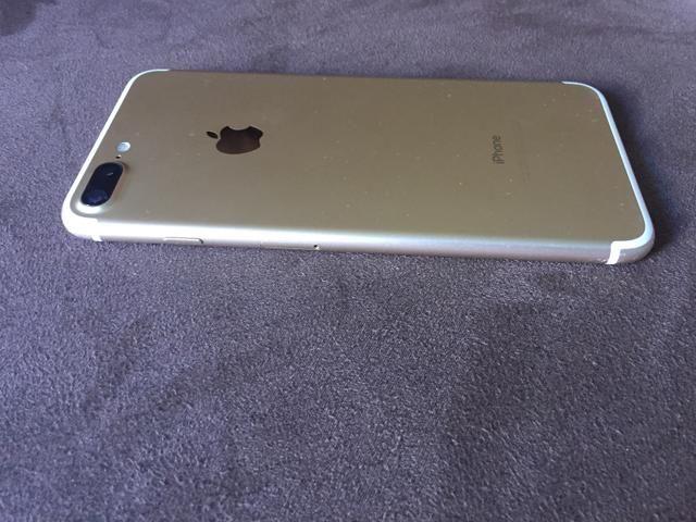 Iphone 7 plus gold 256 gigas