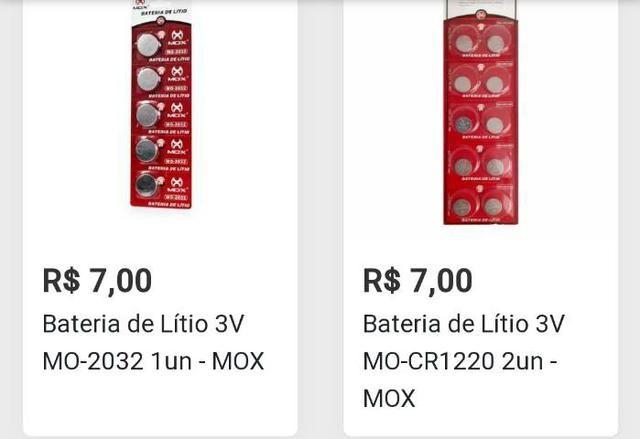 2 Pilhas Baterias de Lítio Para Controle Remoto, Alarme de Carro, PC, Relógios e outros - Foto 2