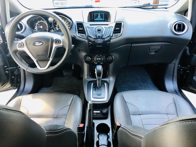 Ford Fiesta 1.6 Titanium Automático 2014 impecável - Foto 13