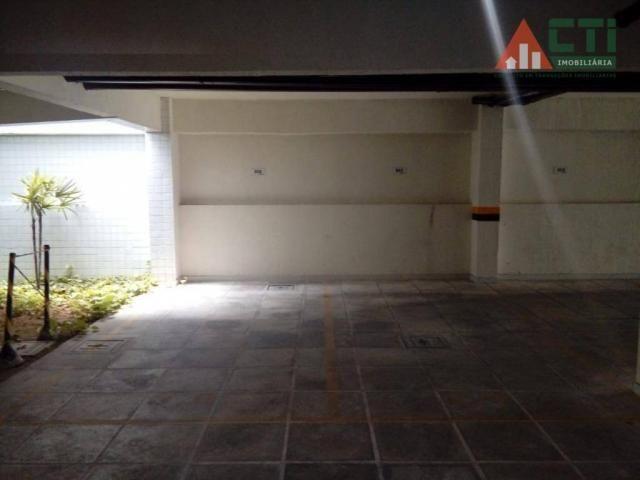 Flat com 1 dormitório para alugar, 40 m² por R$ 2.000,00/mês - Madalena - Recife/PE - Foto 10