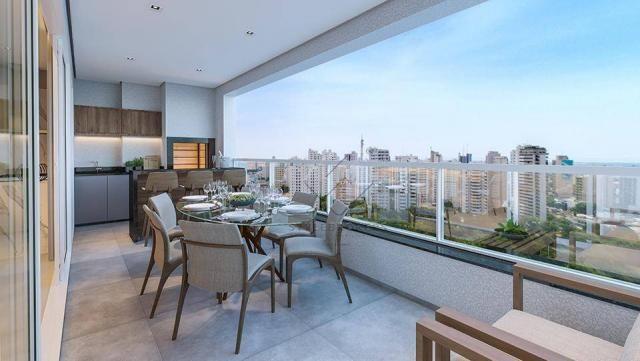 Apartamento com 3 dormitórios à venda, 137 m² por R$ 927.120,00 - Ária - Cuiabá/MT - Foto 2