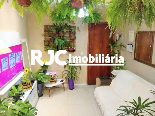 Apartamento à venda com 1 dormitórios em Humaitá, Rio de janeiro cod:MBAP10246 - Foto 2