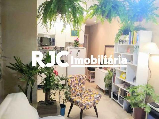 Apartamento à venda com 1 dormitórios em Humaitá, Rio de janeiro cod:MBAP10246 - Foto 7