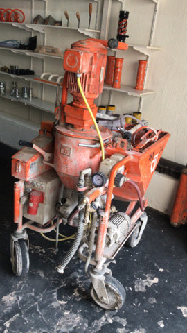 Máquina de projetar reboco PFT G4 - Foto 3