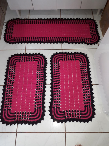 Vende-se Tapete de crochê - Foto 2