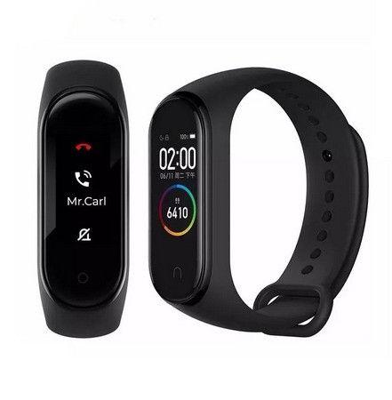Relógio Smartwatch Xiaomi Mi band 4 C/rastreador e Batimento - Foto 3