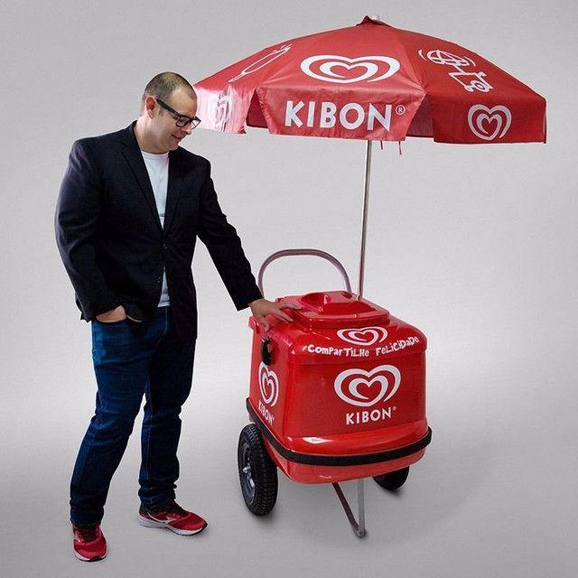 Vendedor de picolés da kibon