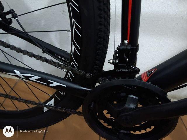 Bicicleta aro 29 KSW 21 marchas Praticamente Nova - Foto 3