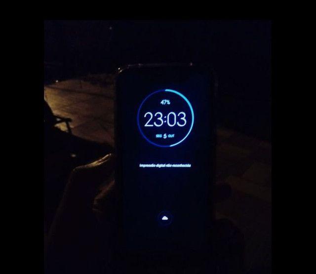 Relógio smartwatch e um moto G7 play - Foto 4