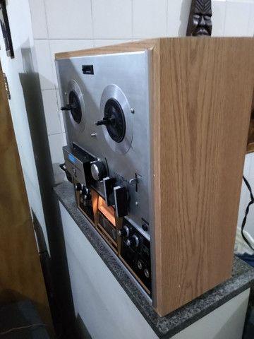 Tape Deck Rolo Akay 1730 D SS - Foto 5