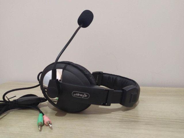 Fone de Ouvido Com Microfone Para PC - Foto 2