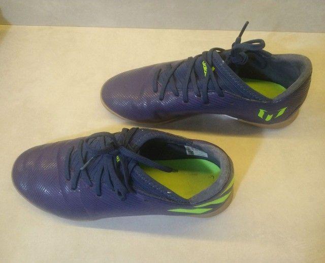 Chuteira Adidas Futebol Society nro 36 - Foto 4
