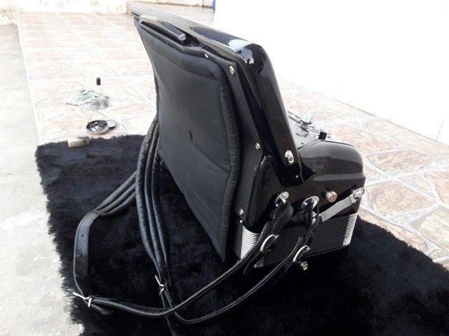 Acordeon Imperial  cassoto duplo   especial  44 teclas 4/5  de vóz - Foto 3