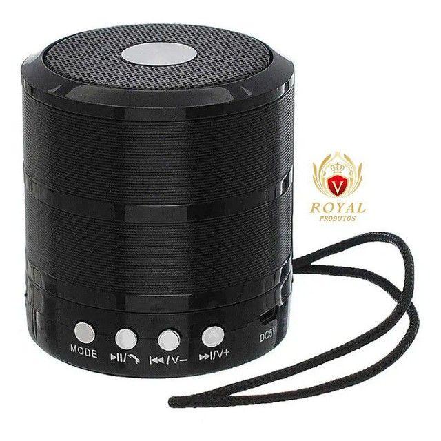 Caixinha Som Ws-887 Bluetooth Portátil Usb Mp3 P2 Sd Rádio Fm - Foto 4