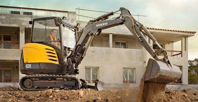 Mini escavadeira, Demolição, pavimentação, pavers, pavis,  - Foto 3