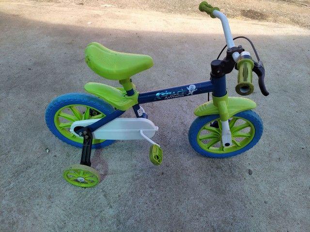 Bicicleta infantil aro 12 - Foto 2