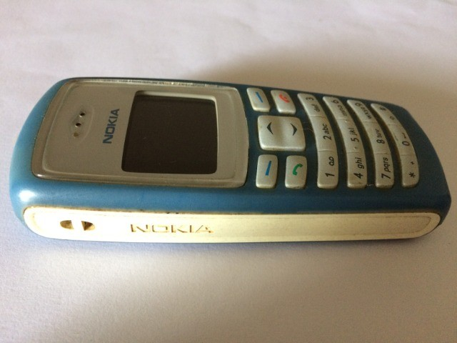 Celular Nokia 2100 Azul - Foto 4