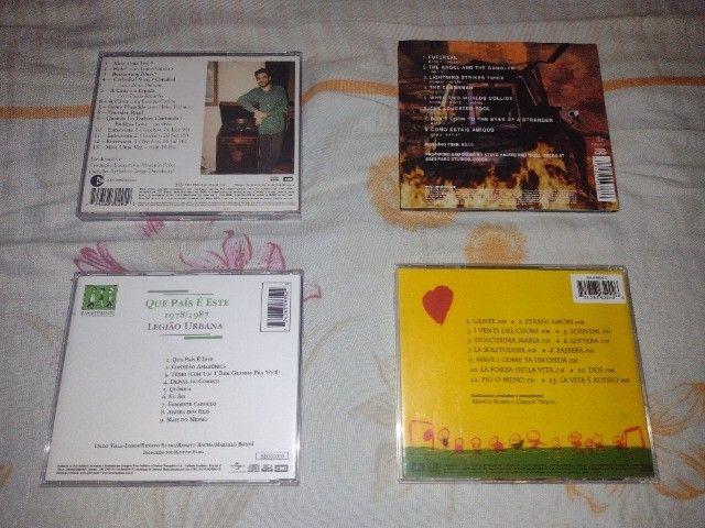 CDs e DVDs de Rock - Nacional e Internacional - Leia a descrição - Foto 3