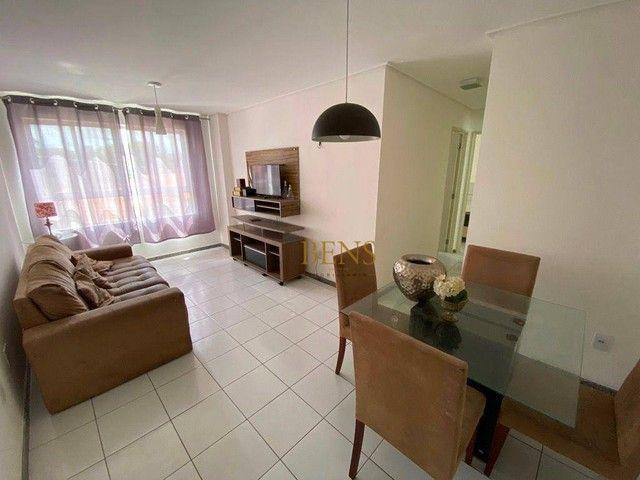 Apartamento com 2 dormitórios para alugar, 73 m² por R$ 1.400,00/mês - Catolé - Campina Gr - Foto 3