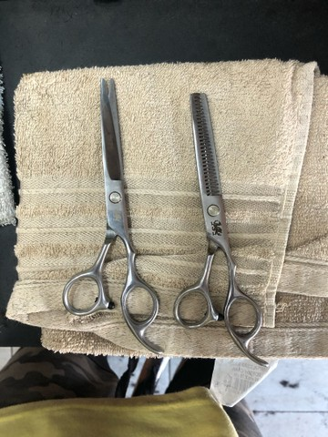 Tesoura para barbeiro  - Foto 2