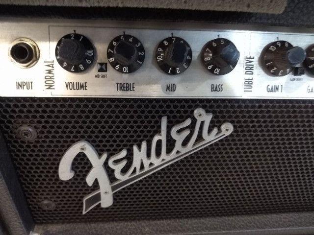 Cabecote Fender Roc-Pro 1000 c caixa Fender p guitarra (Mixer Instrumentos Musicais) - Foto 4